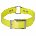 buy discount  Yellow 1 in. Center Ring Day Glow Collar by K-9 Komfort