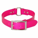 buy discount  Pink 1 in. Center Ring Day Glow Collar by K-9 Komfort