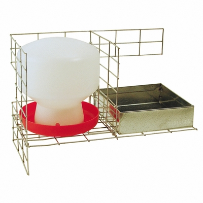 Feed & Water Kit for PT3516/KD Pigeon Trap PT/W/F/8 by SW Cage