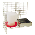 buy discount  Feed & Water Kit for PT4022/KD/S Pigeon Trap PT/W/F/12 by SW Cage