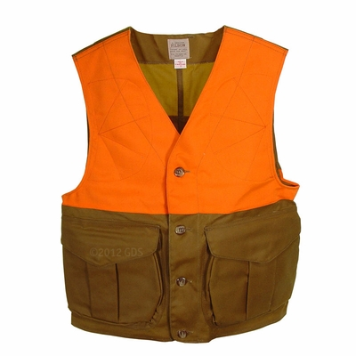 Filson Tin Cloth Upland Hunting Vest