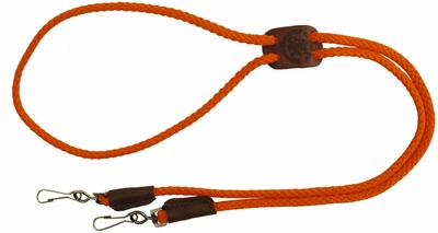 Premium Solid Braid Lanyard by Mendota -- Double Snap