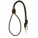buy discount  Hunter Green Mendota Solid Braid Lanyard Double Snap