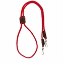 buy discount  Red Mendota Solid Braid Lanyard Double Snap