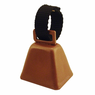 Steel Dog Bell with Nylon Loop