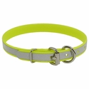 buy discount  Yellow K-9 Komfort Reflective 3/4 in. Dee-End Puppy / Small Dog Collar