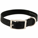 buy discount  Black Single Ply Puppy Dog Collar