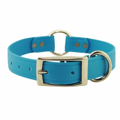 1 in. K-9 Komfort EverFlex Center Ring Dog Collar with Stainless Steel Hardware