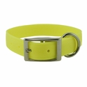 buy discount  Yellow 1 in. K-9 Komfort EverFlex Standard Dog Collar with Stainless Steel Hardware