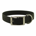 buy discount  Black 1 in. K-9 Komfort EverFlex Standard Dog Collar with Stainless Steel Hardware