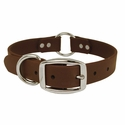 buy discount  Dark Brown 1 in. TufFlex Collar