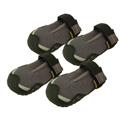 buy discount  Gray Bark'n Boots Grip Trex Dog Boots by Ruff Wear -- Set of 4