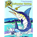 buy discount  Saltwater Fishing Coloring Book