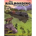 buy discount  Railroading Coloring Book