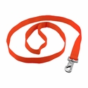 "buy discount  Bright Orange 1"" Snap Leash"