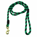 buy discount  Green and Black Whip Lash Snap Lead