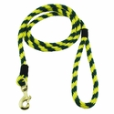 buy discount  Yellow and Hunter Green Whip Lash Snap Lead