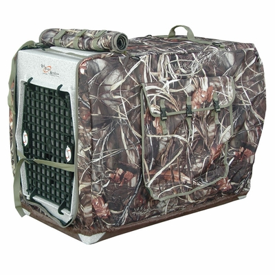 Extra Large Camo Bedford Uninsulated Kennel Cover by Mud River