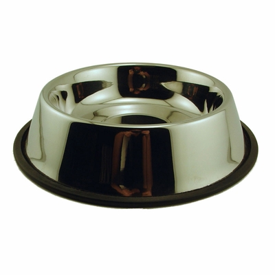 Delta Dog Heavy Weight Non-Tip Feed & Water Bowl -- approx 40 oz.