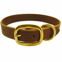 buy discount  1 in. Back Trail Outfitters Leather Field Standard Dog Collar