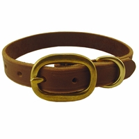 buy discount  3/4 in. Back Trail Outfitters Leather Field Standard Puppy / Small Dog Collar