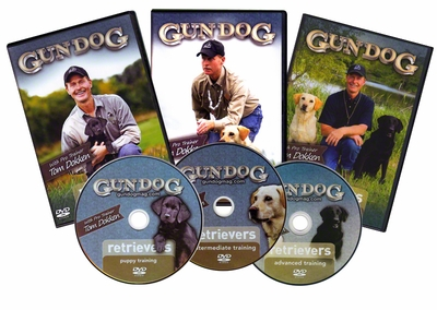 Tom Dokken's Retriever Training 3-disc DVD Set