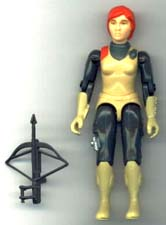 GI JOE Scarlett (str)(loose) GI Joe Action Figures & G.I. Vintage Toys at Guru-Planet