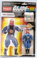 GI JOE Funskool Cobra Commander (fs)(moc) GI Joe Action Figures & G.I. Vintage Toys at Guru-Planet
