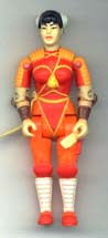GI JOE Street Fighter Chun Li (orange)(loose) GI Joe Action Figures & G.I. Vintage Toys at Guru-Planet