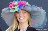 Dynamic MultiColored Kentucky Derby Hat