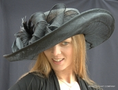 Shapeable Sinamay Derby Hat
