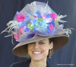 Derby Flower Hat