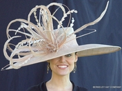 Winner's Circle Feathered Kentucky Derby Hat