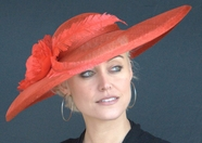 Red Kate's Kentucky Derby Hat