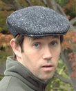 Irish Donegal Heavy Weight Ivy Cap, Grey  (IR33)