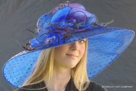 Packable Kentucky Derby Hat