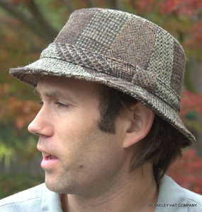 Harris Tweed Country Walking Hat (IR09)