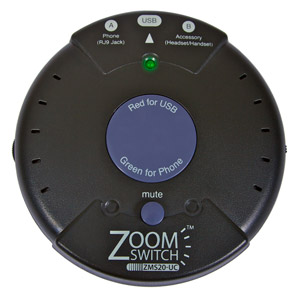 Zoom Zoomswitch Headset With Mute