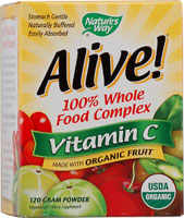 Alive! 100% Whole Food Complex Vitamin C