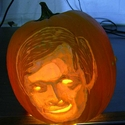 How To Carve Someone's Face On A Pumpkin