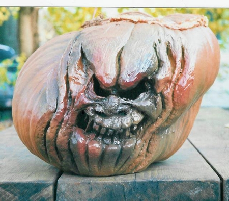 Gruesomely Cool Pumpkin