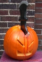 Axe to The Head Pumpkin