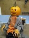 Sparky The Electric Chair Pumpkin