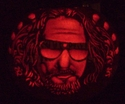 The Dude - From Big Lebowski - Pumpkin