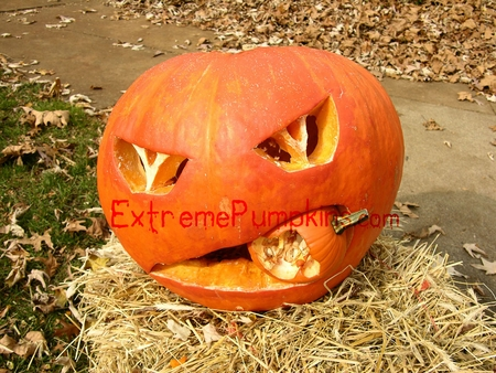 My latest cannibal pumpkin