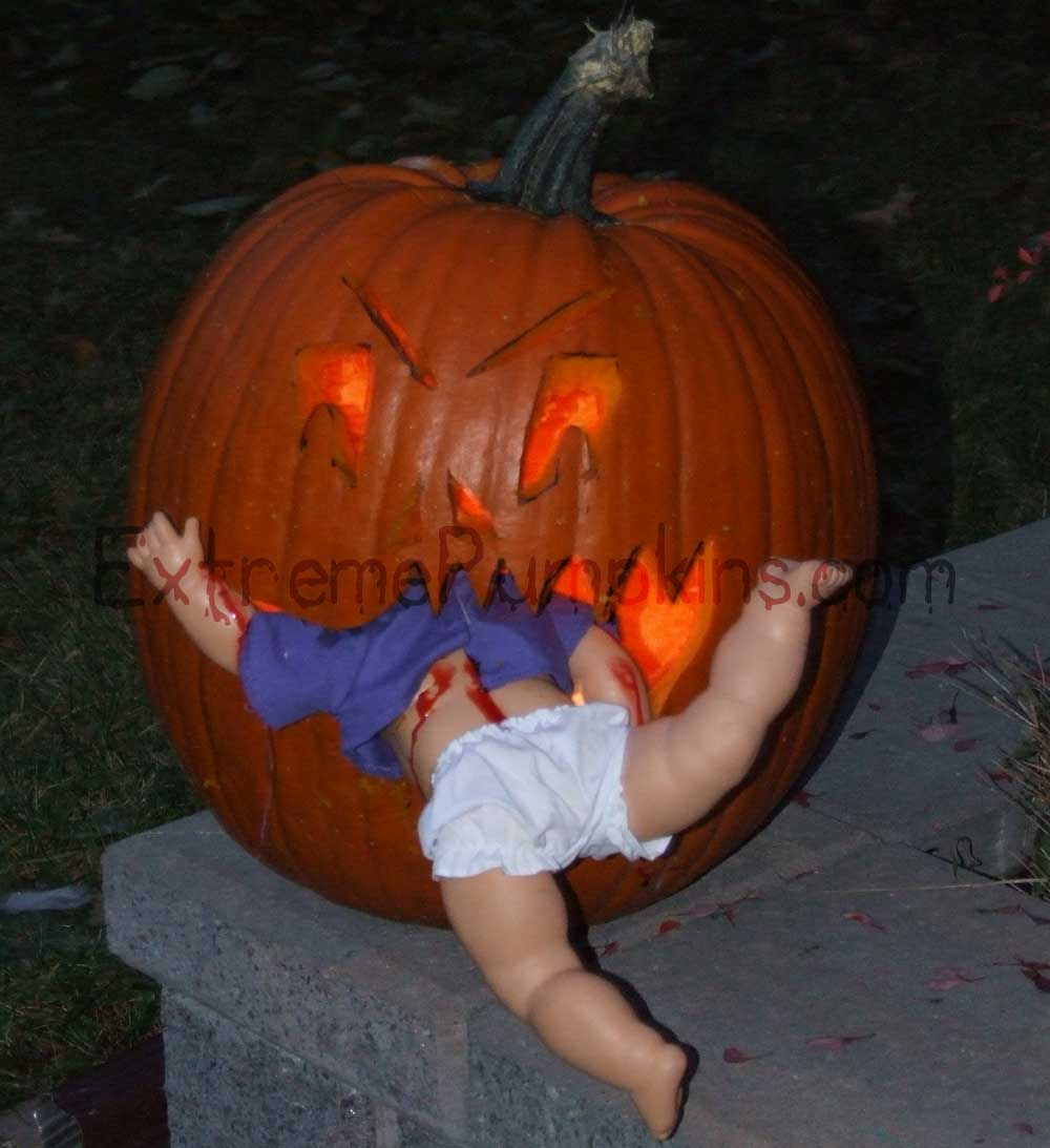 baby-eating pumpkin