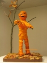 The Mummy Pumpkin - Made From Pumpkin Peels