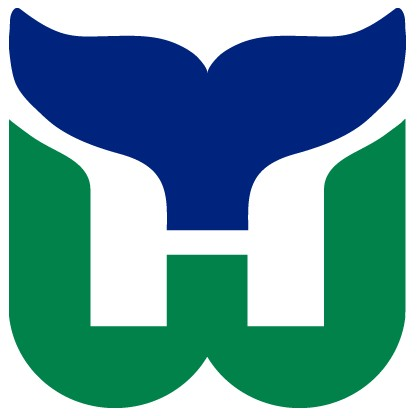 UNCRESTED HARTFORD WHALERS JERSEYS