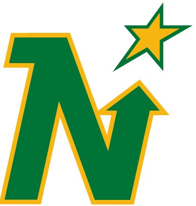 UNCRESTED MINNESOTA NORTH STARS JERSEYS