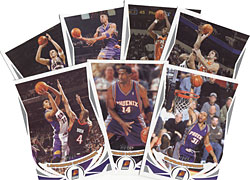 NBA Phoenix Suns 2004-05 Topps Team Set
